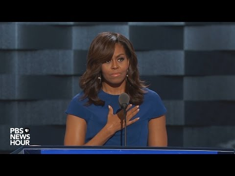 Watch first lady Michelle Obama's full speech at the 2016 Democratic National Convention (видео)