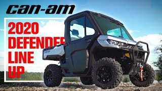 5. 2020 Can-Am Defender Lineup First Impressions | Limited, 6x6, & Pro XT Comparison