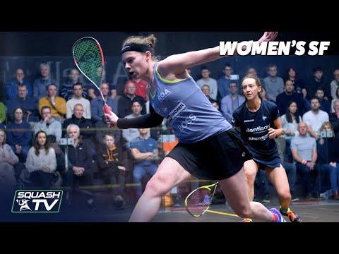 AJ Bell National Squash Championships 2020 - Women's SF Highlights