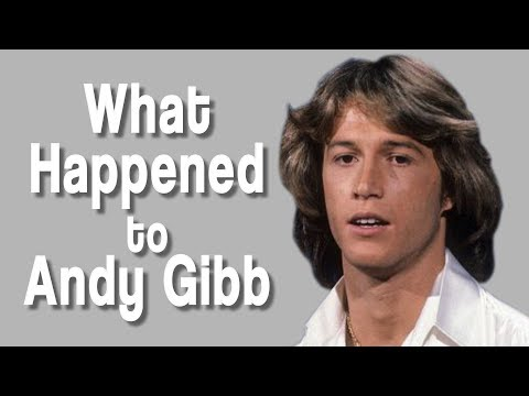 What happened to ANDY GIBB?