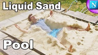 Video Liquid Sand Pool: Ft. SMOSH, CaptainSparklez, Pocket.Watch MP3, 3GP, MP4, WEBM, AVI, FLV Oktober 2018