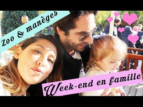 WEEK-END EN FAMILLE  - Manèges & Zoo - Vlog de maman