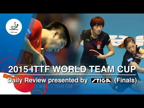 2015 World Team Cup Daily Review presented by STIGA - Day 4