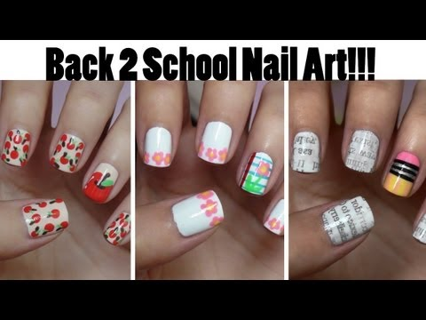 Nails - Which manicure is your favorite?! Let me know!! -Want more nail ideas? Check out my entire playlist! http://www.youtube.com/playlist?list=PL2BF6E1304B0F6E0E...