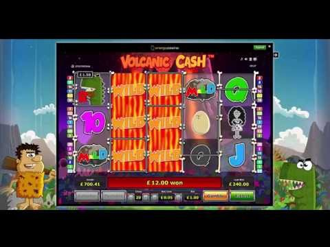 Volcanic Cash Slot - Big Win - Novomatic