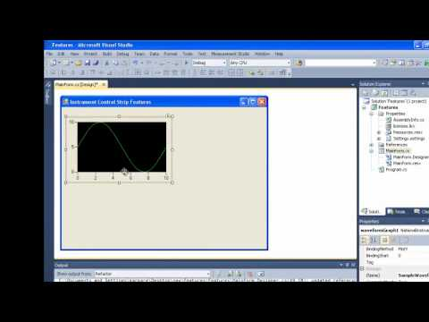 Instrument Control Strip Features for Measurement Studio