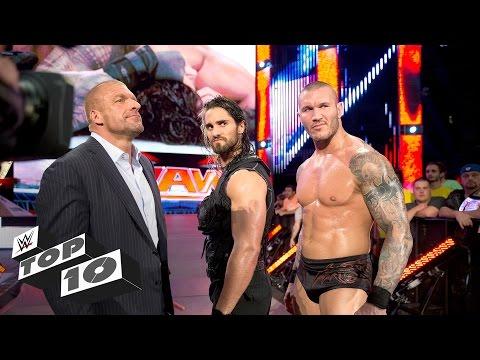 Humiliating public betrayals: WWE Top 10 (видео)
