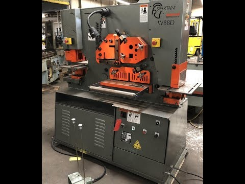 Punching Machine MARVEL Spartan IW-88D 2013
