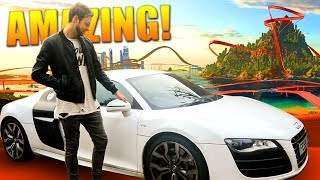 Racing MY CAR on the CRAZIEST track EVER! by Ali-A