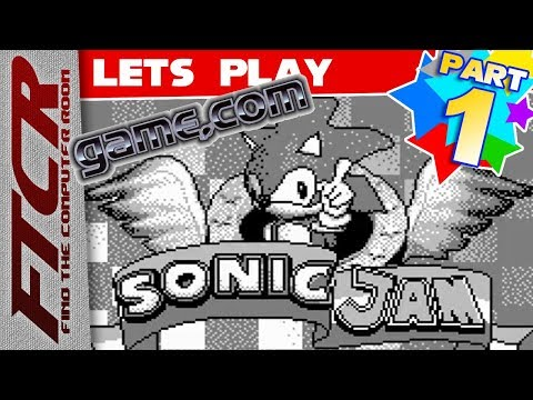 'Sonic Jam (Game.com)' Let's Play - Part 1: \