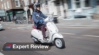 6. 2014 Vespa Primavera 125 bike review