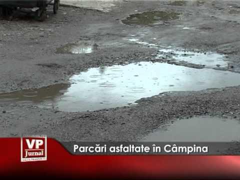Parcări asfaltate în Câmpina