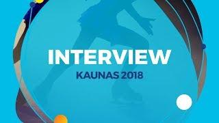 ISU Interview from 2018 Junior Grand Prix