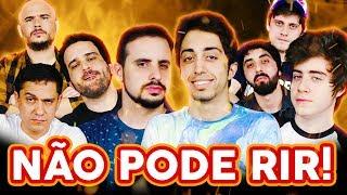 Video NÃO PODE RIR! com Lucas Inutilismo, Cellbit, Zelune e Matheus Canella MP3, 3GP, MP4, WEBM, AVI, FLV Juli 2018