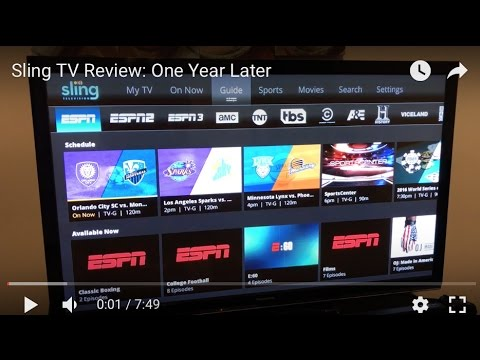 Sling TV Review: A La Carte TV