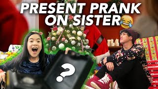 Video CHRISTMAS PRESENT PRANK ON SISTER | Ranz and Niana MP3, 3GP, MP4, WEBM, AVI, FLV Februari 2019