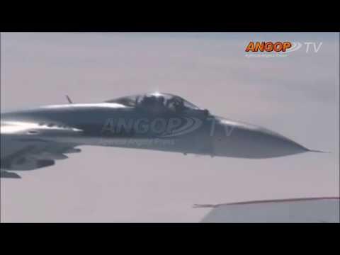 Revista Internacional: Avión Caza de la OTÀN se aproxima de aeronave del ministro ruso de Defensa