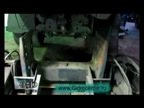 Установка гидроборта на МАЗ
