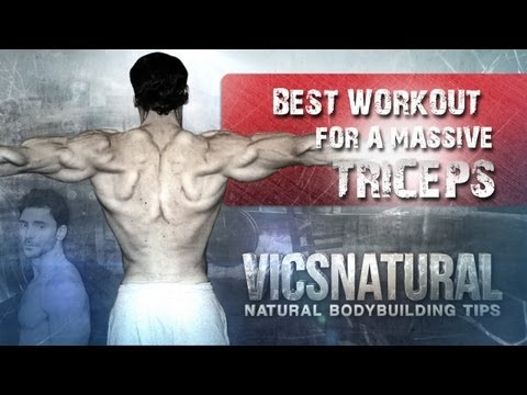 bodybuilding arm routine - http://www.vicsnatural.com http://www.facebook.com/vicsnatural Best Tricep workouts Best triceps workout program bodybuilding workouts exercises routine Want...