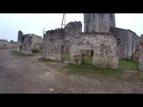 cns urbex visite à oradour sur glane