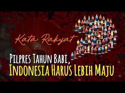 Pilpres Tahun Babi, Indonesia Harus Lebih Maju