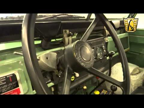 1969 Land Rover Series II A 88 - Stock #5975 - Gateway Classic Cars St. Louis (видео)