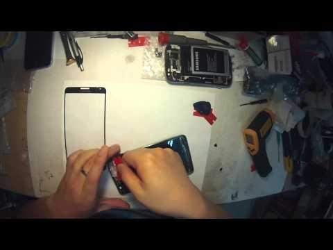 Glas  Samsung Galaxy Note 3  selber wechseln