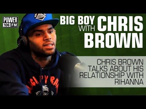 Chris Brown Talks about Rihanna