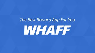 WHAFF Rewards YouTube video