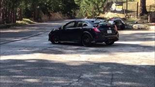 Watch & Listen to the new 2017 Honda Civic Type R acceleration. Video footage is from Southern California
