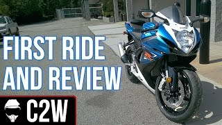 2. GSXR 600 - First Ride and Review