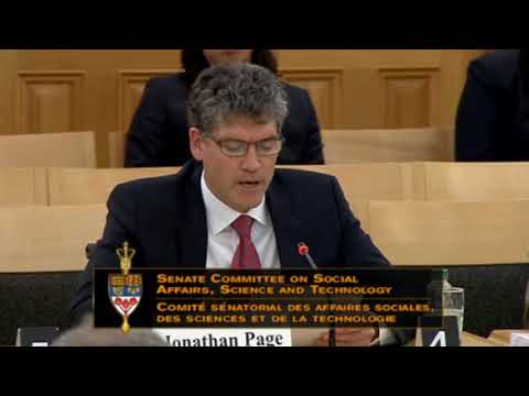 Standing Senate Committee on Social Affairs, Science and Technology - Monday April 30th, 2018