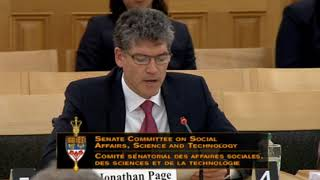 Standing Senate Committee on Social Affairs, Science and Technology - Monday April 30th, 2018 by Pot TV
