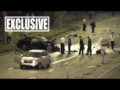 ЖЕСТЬ! Ужасное ДТП на Минской улице, 3 трупа! ВИДЕО! (02.08.2015)