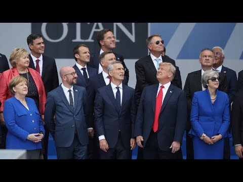 NATO Summit: Trump wants more military spending