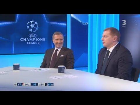 Man Utd 1-2 Sevilla Post Match Analysis Souness, Lennon