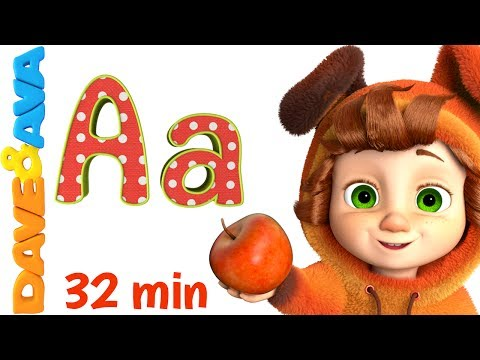 🔤 Alphabet Train and more ABC Songs | Alphabet song | Learn ABCs with Dave and Ava 🔤