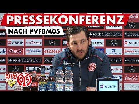 Die Pressekonferenz nach dem Spiel beim VfB Stuttgart | #VBFM05