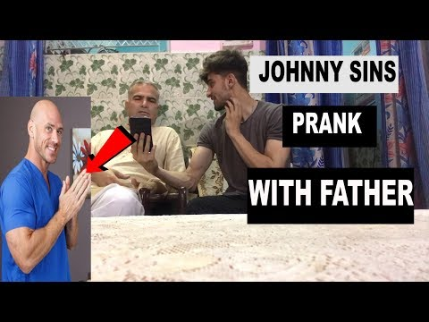 JOHNNY SINS PRANK WITH FATHER (first Time In INDIA)TRY NOT TO LAUGH FT ANAS PATHAN