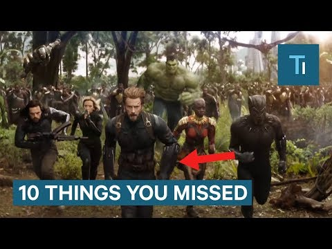 Download Video 'Avengers: Infinity War' Trailer: 10 Things You Missed