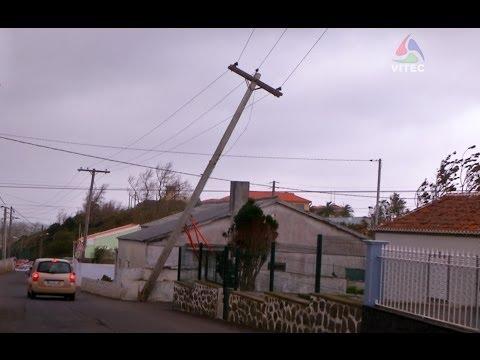 Mau tempo na ilha Terceira