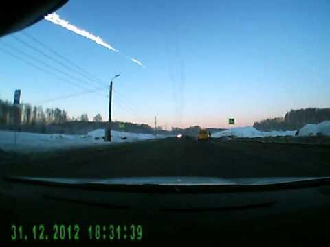 1. Meteorit landar i Ryssland