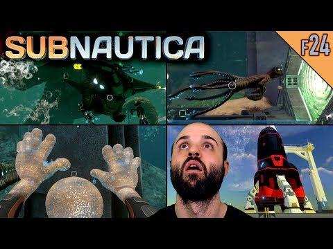 Subnautica #F24   EL FINAL DEFINITIVO   Gameplay Español (видео)