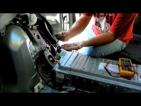 Toyota hybrid - 2006 Prius hybrid battery removal and installation. do it yourself info P0A80 replace hybrid battery was the code on my scanner.