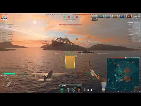World of Warships - Reee reee tier 6 CV is Sht Flambass Ree reeeeeeeee