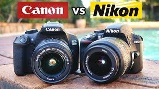 Video Canon T6 vs Nikon D3300 - Which is the best beginner DSLR? MP3, 3GP, MP4, WEBM, AVI, FLV Juli 2018