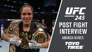 UFC 245: Amanda Nunes - We Always have A Second Plan by UFC