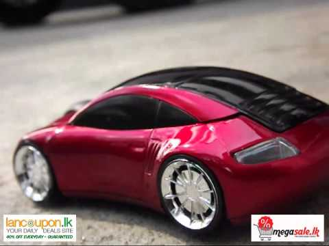 3D Wireless Optical Car Mouse