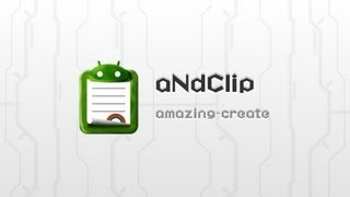 aNdClip Free - Clipboard ext - YouTube video