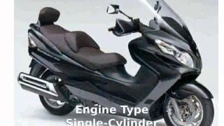 3. 2008 Suzuki Burgman 400 Engine and Details